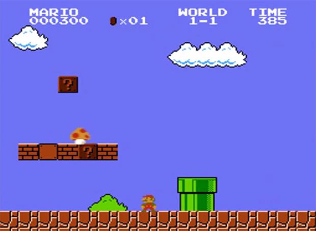 O visual é o mesmo, mas você nunca ouviu Mario assim (Foto: Divulgação)
