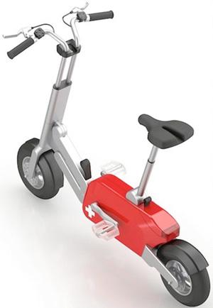 Bicicleta dobrável (Foto: Divulgação)