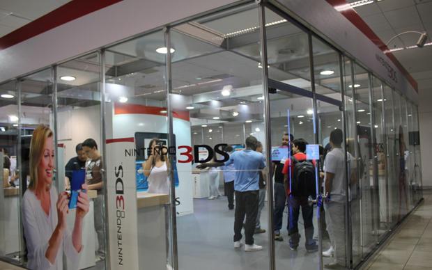 Stand da Nintendo (Foto: Diego Borges / TechTudo)