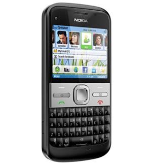 Nokia E5 (Foto: Divulgação)