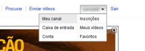 Acesse seu Canal do Youtube