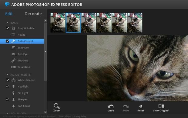 Photoshop Express (Foto: Reprodução)