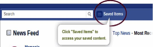 Ícone do localizado na barra superior do Facebook (Foto: Reprodução/Fox Xavier)