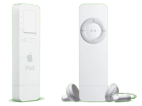 iPod Shuffle - Gera&#231;&#227;o 1 (Foto: Divulga&#231;&#227;o)