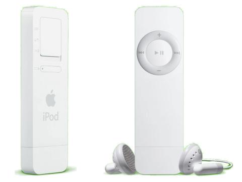 iPod Shuffle - Geração 1 (Foto: Divulgação)