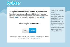 Autorize o acesso a sua conta do Twitter (Foto: Reprodução/Fox Xavier)