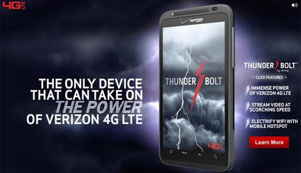 HTC Thunderbolt (Foto: Reprodução)