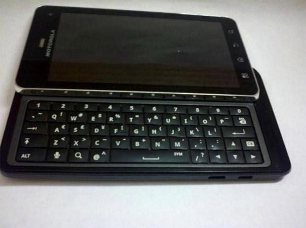 Possível Motorola Milestone 3 (Foto: Reprodução/Dvice)