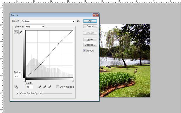 Em algumas ocasiões, um S de curvas poucas acentuadas basta (Foto: Reprodução/Felipe Held)