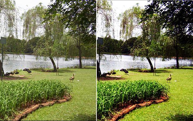 Alterações permitem que luzes, sombras e cores da imagem ganhem mais intensidade (Foto: Reprodução/Felipe Held)