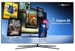 TV Samsung com streaming 3D (Foto: Divulgação)