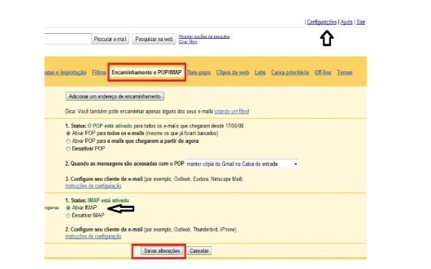 Configure sua conta para que o programa funcione corretamente (Foto: Reprodução/Fox Xavier)