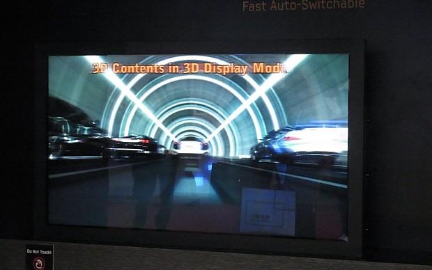 TV 3D Samsung (Foto: Reprodução/Tech-On!)
