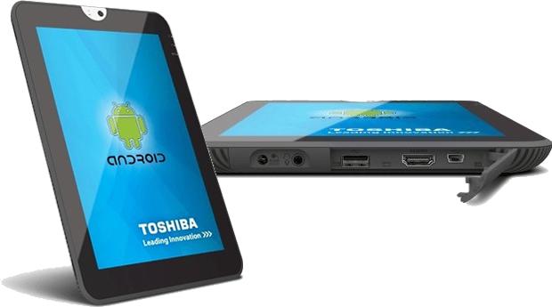 Tablet da Toshiba (Foto: Divulgação)