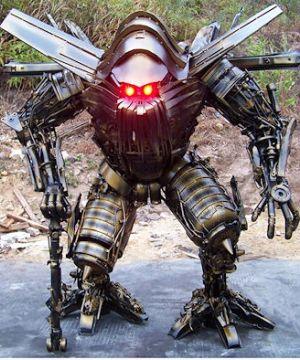 Robo chinês (Foto: Reprodução)