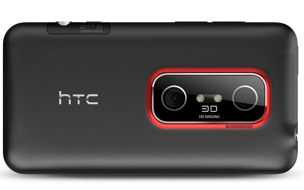 Parte traseira do HTC EVO 3D (Foto: Divulgação)