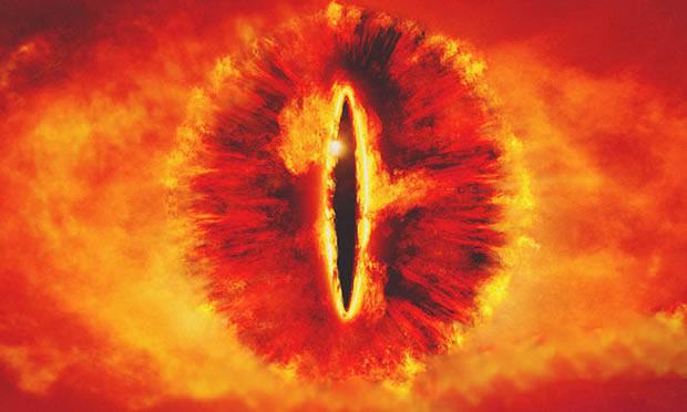 Olho de Sauron, de O Senhor dos Anéis (Foto: Divulgação)