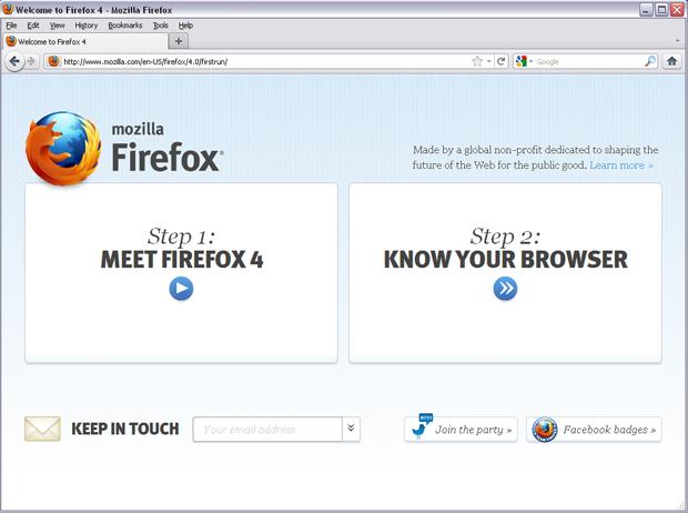 Firefox 4 (Foto: Reprodução/TechTudo)