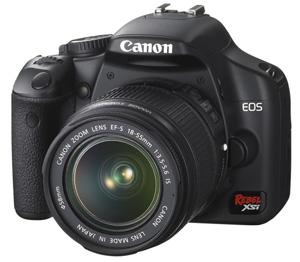 Canon Rebel XSi (Foto: Divulgação)