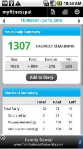 Calorie Counter - MyFitnessPal (Foto: Divulgação)