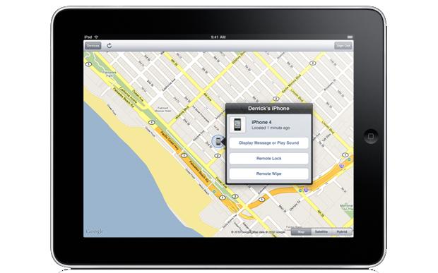 Find My iPad (Foto: Divulgação)
