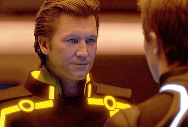 A reconstituição facial em Tron: Legacy foi um dos trabalhos de Jonah (Foto: Divulgação)