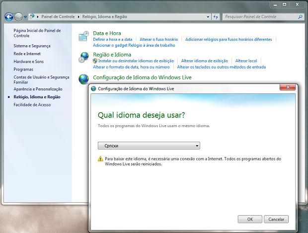 Windows Live Essentials (Foto: Reprodução/Helito Bijora)