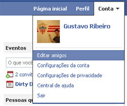 Editar amigos (Foto: Reprodução/Gustavo Ribeiro)