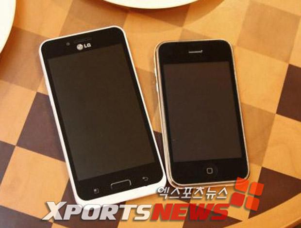 LG Optimus Big (Foto: Reprodução/XportsNews)