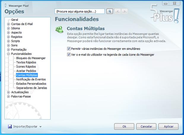 Várias instâncias do MSN em simultâneo (Foto: Reprodução/TechTudo)