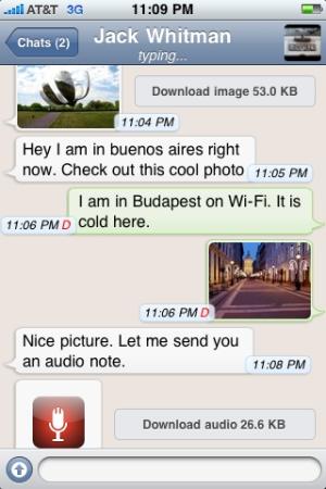 WhatsApp Messenger (Foto: Divulgação)