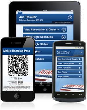App da American Airlines (Foto: Divulgação)