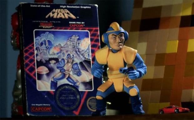 Bad Box Art Mega Man em Trailer de Mega Man Universe (Foto: Divulgação)