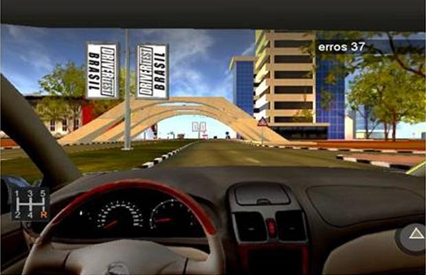 Simulador de direção (Foto: Divulgação)