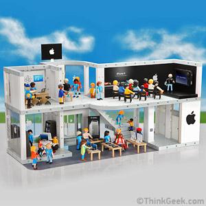 Apple Store de brinquedo. (Foto: Reprodução/ ThinkGeek)