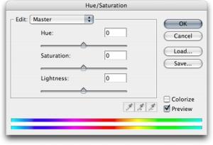 Hue e saturation (Foto: Reprodução)