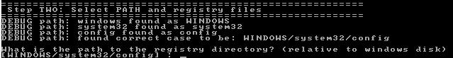 Tela da seleção da pasta do Registro do Windows (Foto: Reprodução/Gustavo Ats)