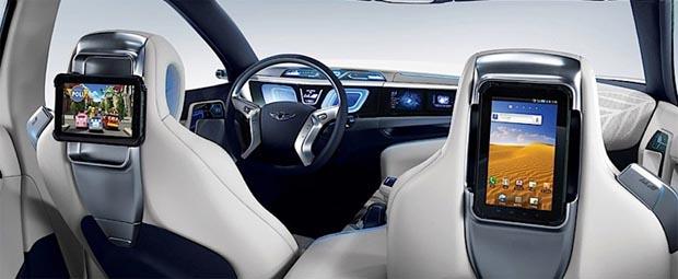 Carro ecológico da Hyundai (Foto: Divulgação)