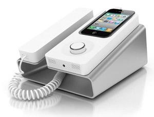 Dock semelhante a um telefone antigo (Foto: Divulgação)
