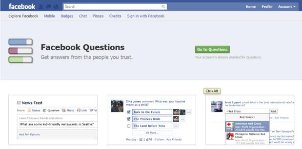Ativando o Facebook Questions (Foto: Reprodução/Teresa Furtado)