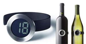 Termômetro para garrafa de vinho (Foto: Divulgação)