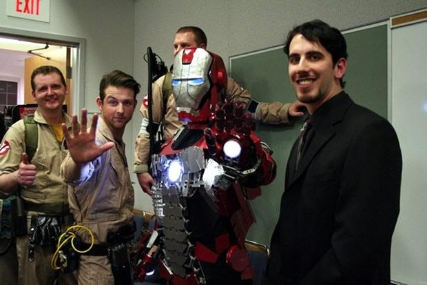 Cosplay de Homem de Ferro (Foto: Reprodução)