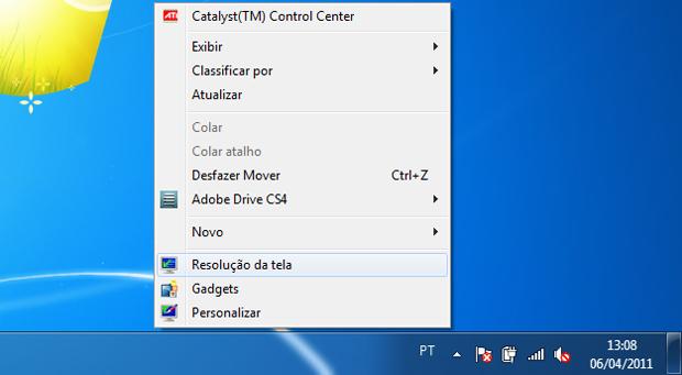Resolução de tela do Windows (Foto: Reprodução/TechTudo)