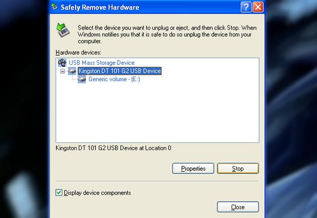 Remover pendrive com segurança (Foto: Reprodução/TechTudo)