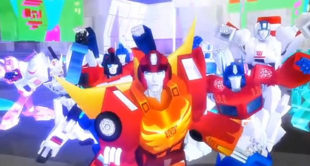 ROBÔS Transformers dançando Thriller Transformers