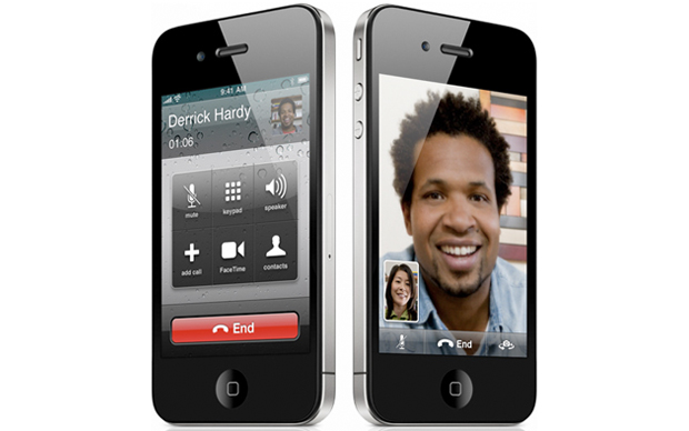 FaceTime no iPhone 4. (Foto: Divulgação)