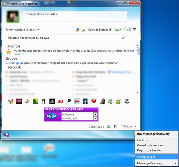 Messenger Discovery (Foto: Reprodução/TechTudo)
