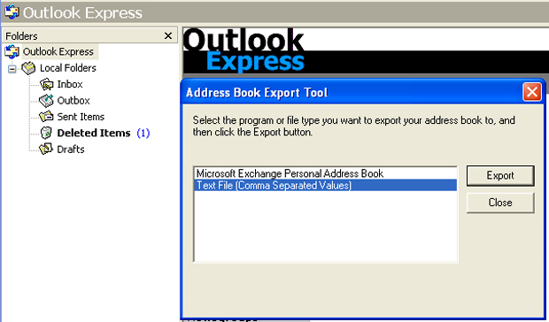 Exportar contatos do Outlook (Foto: Reprodução/TechTudo)