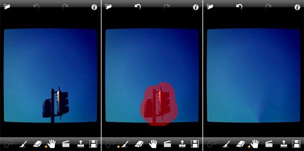 Outro exemplo de retoque feito no Touch Retouch (Foto: Divulgação)