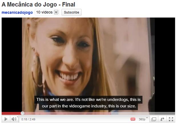 As legendas demoram alguns minutos para aparecerem no seu vídeo publicado no YouTube, mas tenha paciência (Foto: Reprodução/Bruno Araujo)